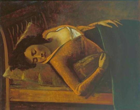 Balthus, Sleeping Girl, 1943