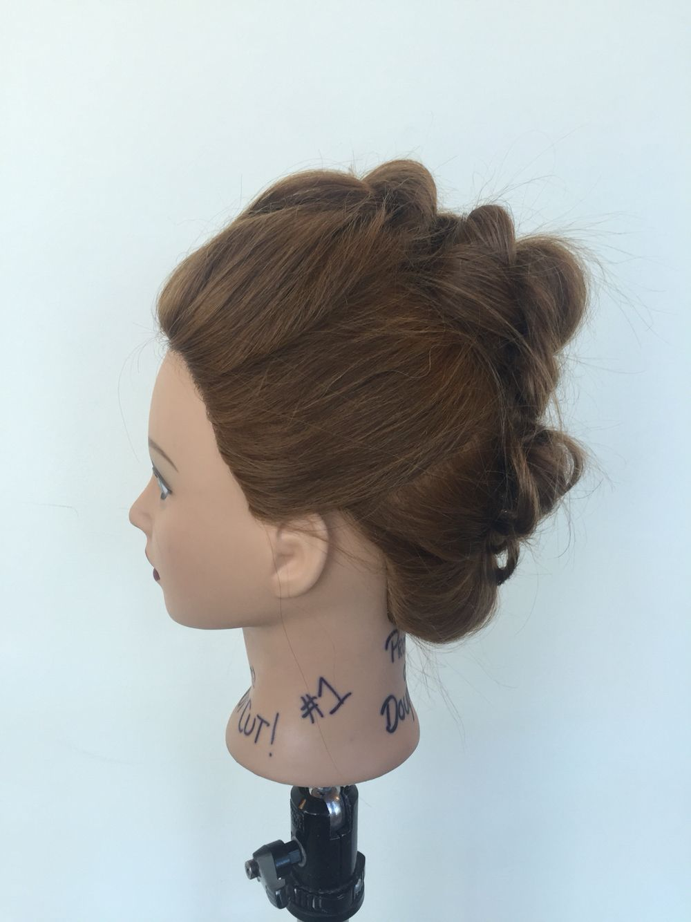 Lesson rope mohawk braid left hairdresser tv pinterest