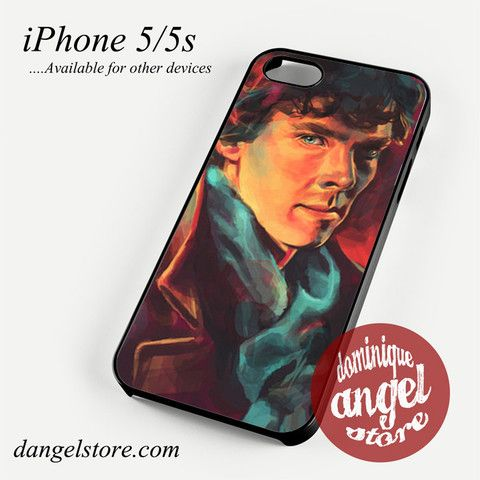 Sherlock art Phone case for iPhone 4/4s/5/5c/5s/6/6 plus