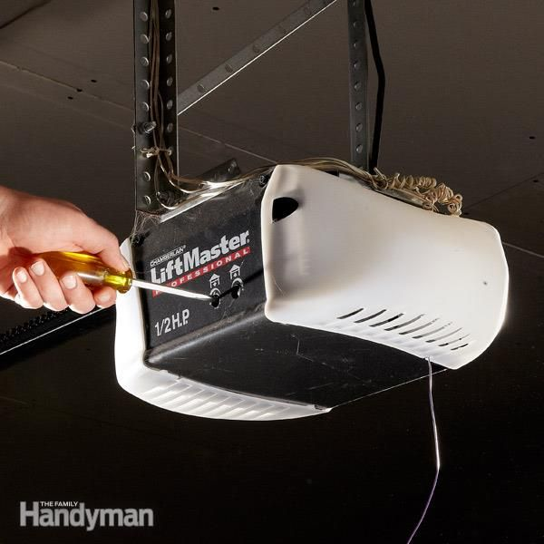 Do Your Own Garage Door Opener Repair And Troubleshooting Garage