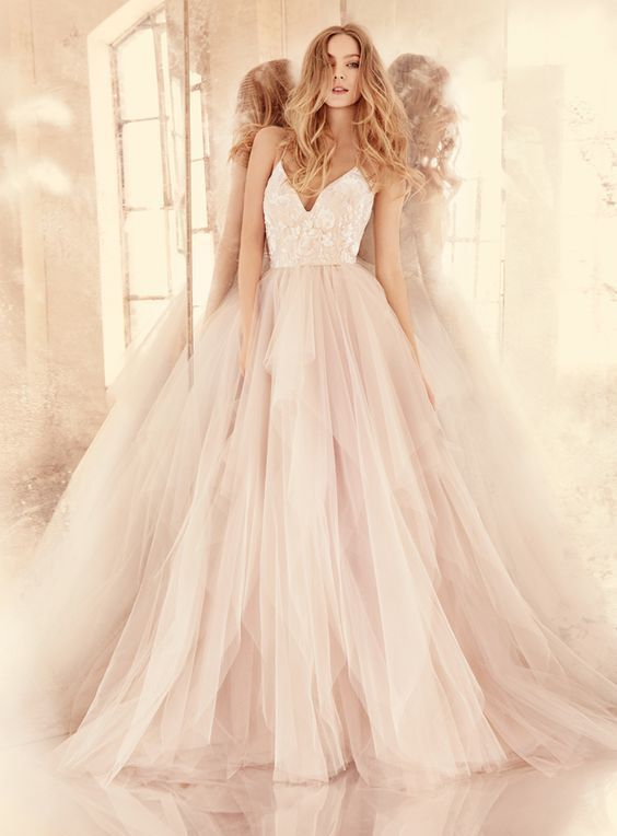 2017 Custom Made Charming Champagne Prom Dress Spaghetti Straps Evening DressFloor Length Prom Dress