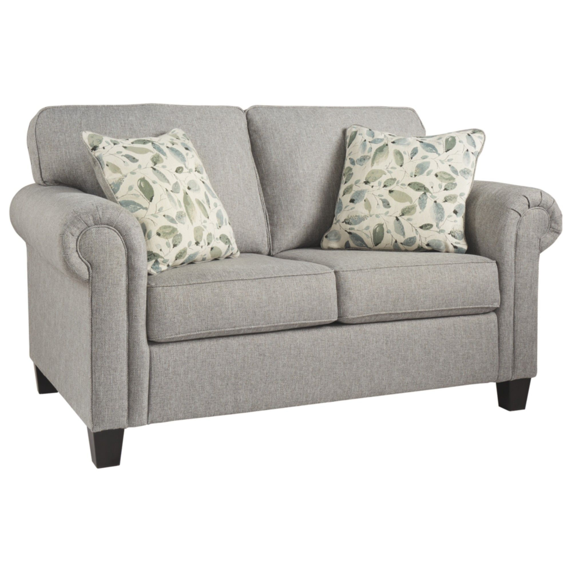 Miraculous Alandari Loveseat Gray Signature Design By Ashley In 2019 Complete Home Design Collection Papxelindsey Bellcom