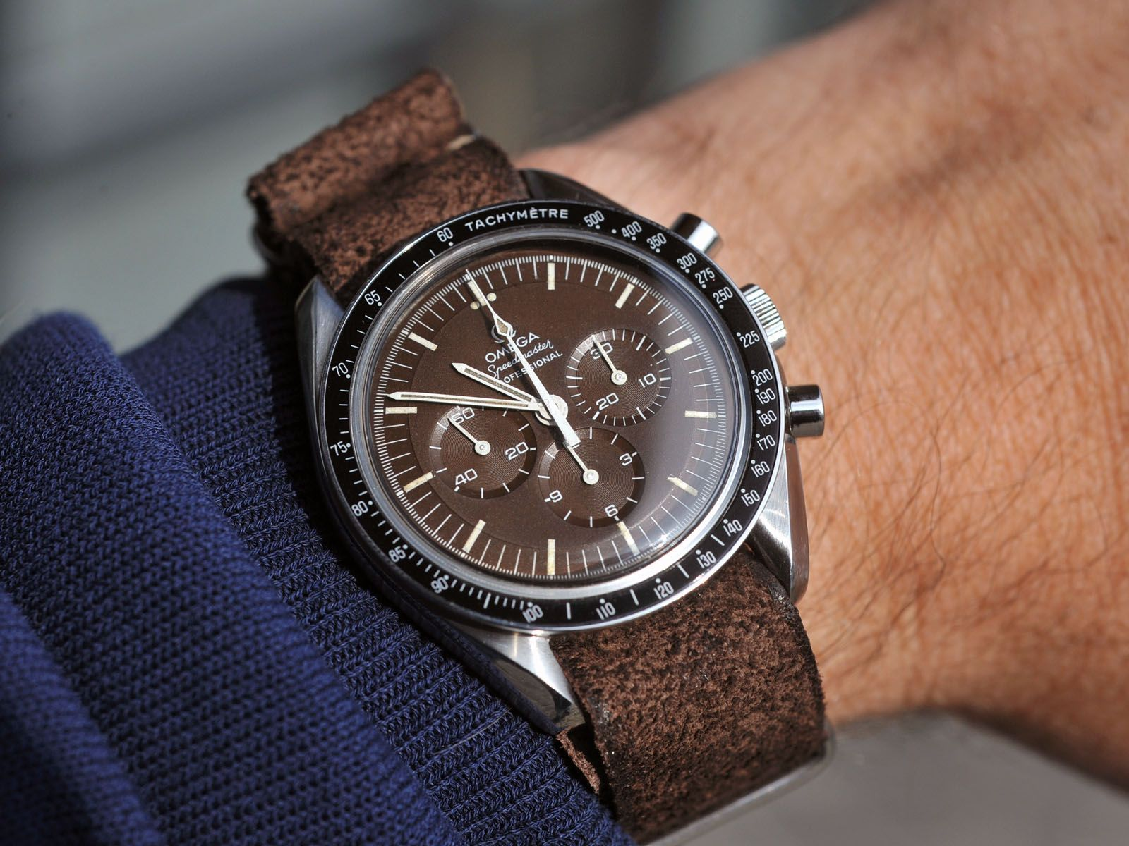 Omega Speedmaster 1969 Leather Nato Nice Watches To Wear