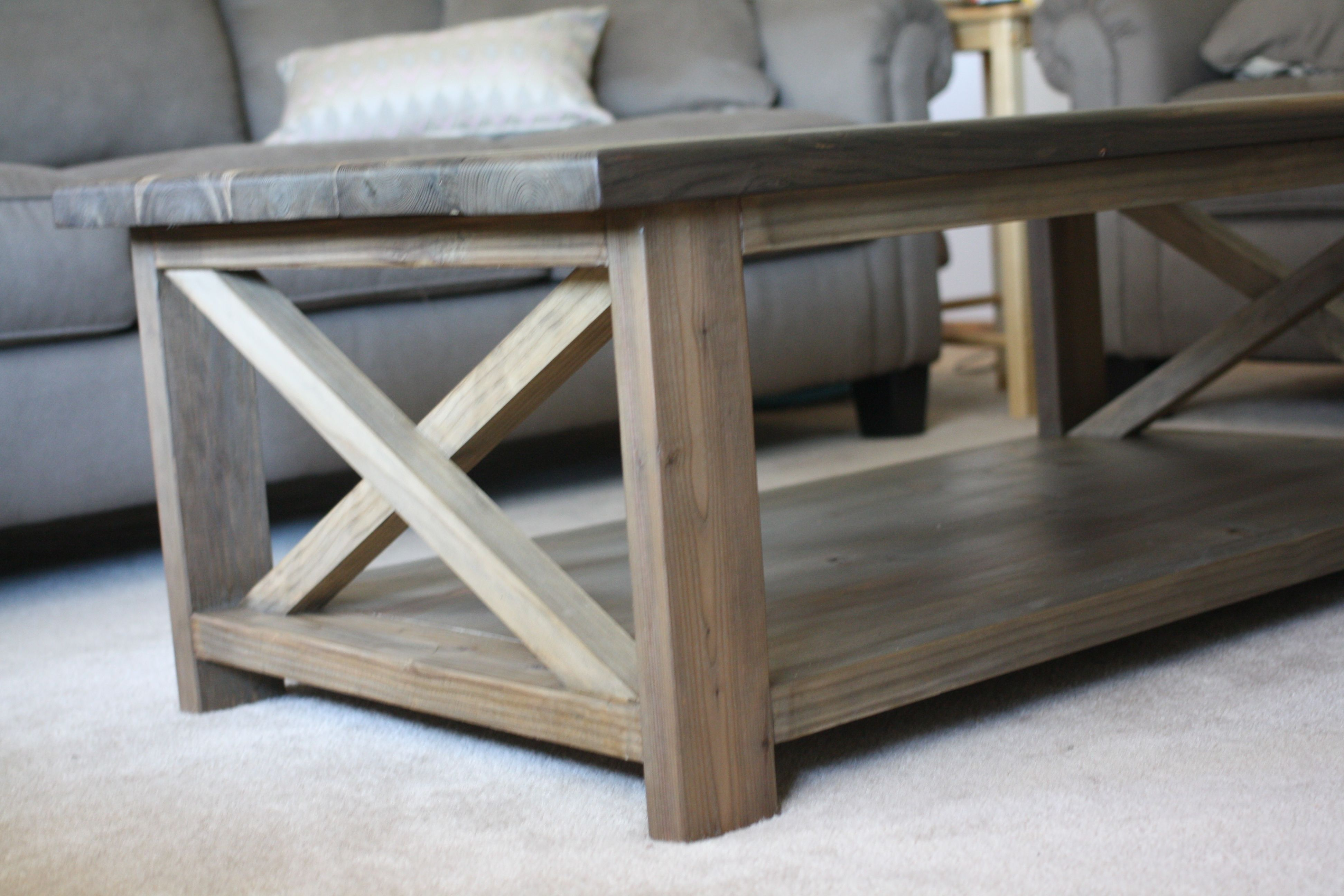 Ana White Rustic X Coffee Table Diy Projects Coffee Tables