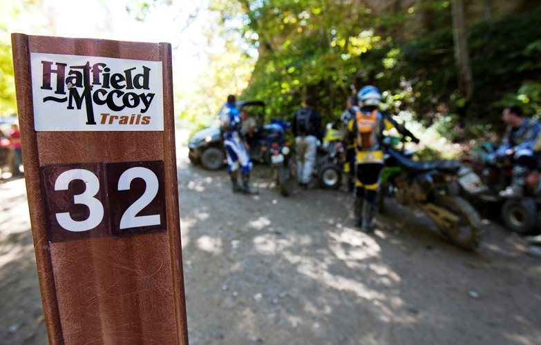 When You Come To Ride At Hatfield Mccoy Trails You Will Experience Some Of The Best Atv Utv And Dirt Bike Tra Bike Vacation Hatfield Backpacking Destinations