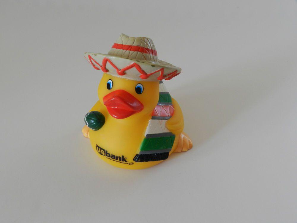 Rubber Duck Wearing Sombrero Hat Rubber Duck Rubber Ducky Ducky