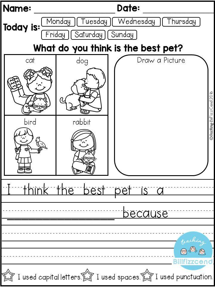 free daily writing prompts school kindergarten writing prompts kindergarten writing first. Black Bedroom Furniture Sets. Home Design Ideas