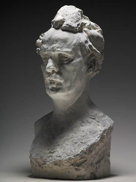 Rodin, Buste de Rochefort, Plâtre, 1884, Musée Rodin ...
