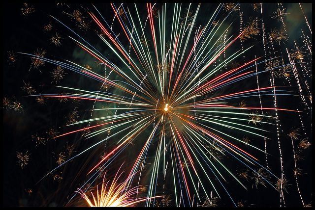 Reining Freedom Fireworks Visiting Freedom