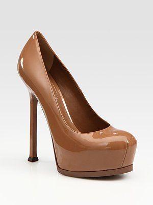 7a44c6c1238 Yves Saint Laurent YSL Trib Too Patent Leather Pumps#SaksLLTrip ...