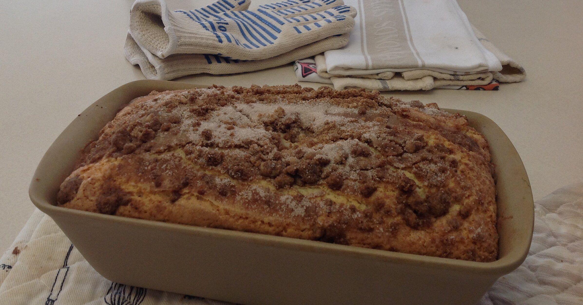 Sour Cream Coffee Cake Iii Recipe In 2020 Sour Cream Coffee Cake Sour Cream Coffee Cake