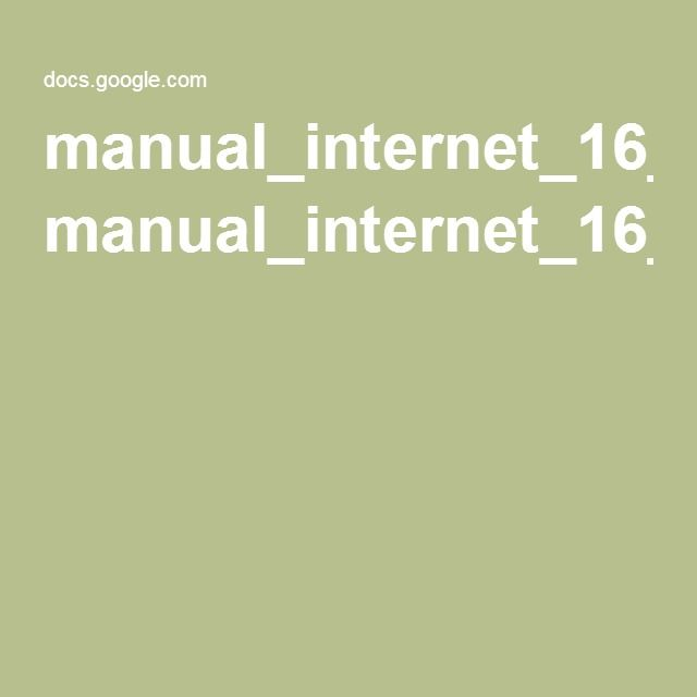 Uso seguro de Internet para docentes. Beatriz Olivares. manual_internet_16_web.pdf