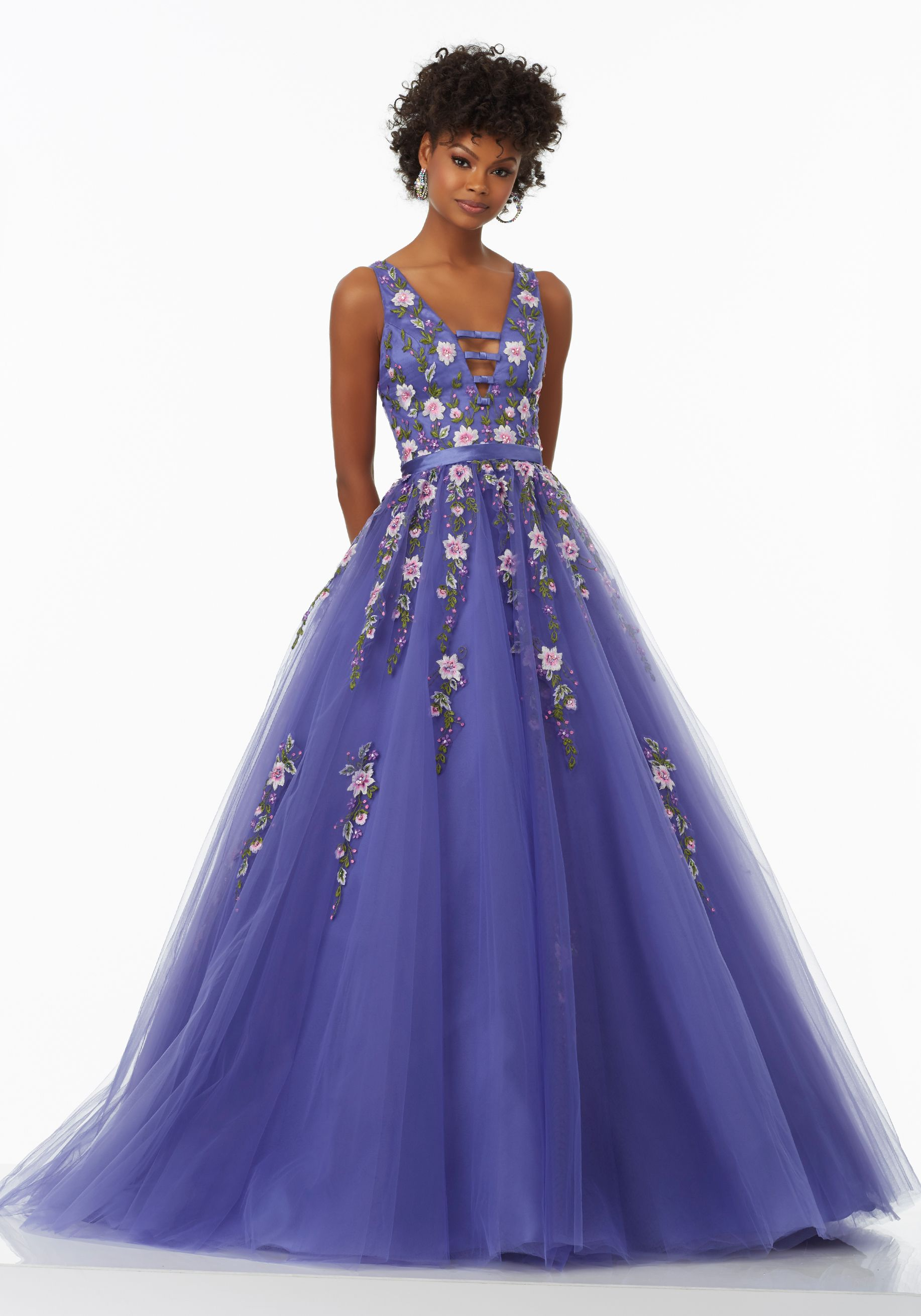 Embroidered ball gown prom dress step inside my fashion eye
