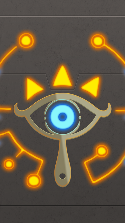 I Was Looking For A Nice Sheikah Slate Phone Wallpaper And Didn T Like Any Of Them So I Made My Own Breath O Legend Of Zelda Zelda Legend Of Zelda Breath