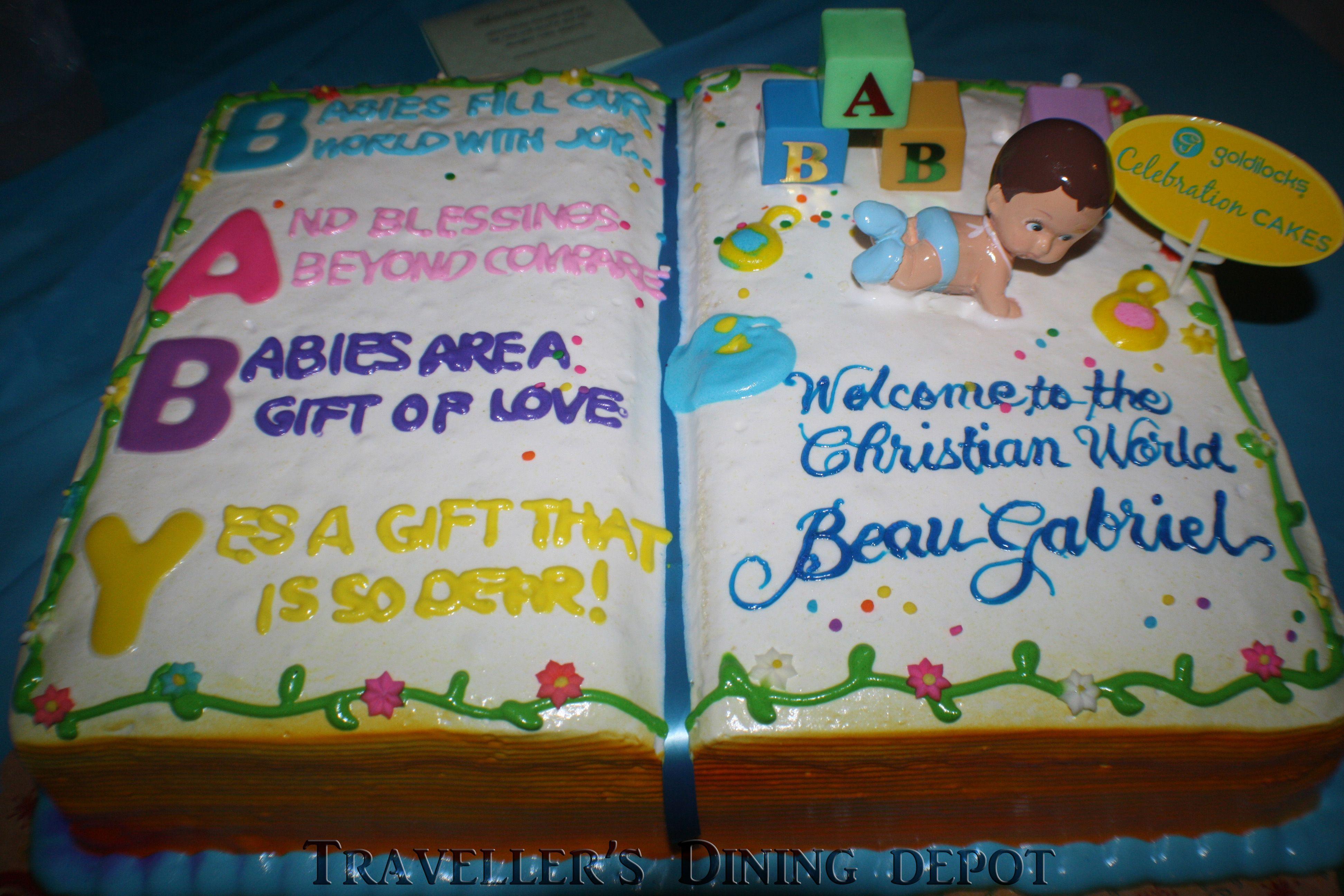 Goldilocks Baptismal Cakes Prices cakepins.com Ideas for ...