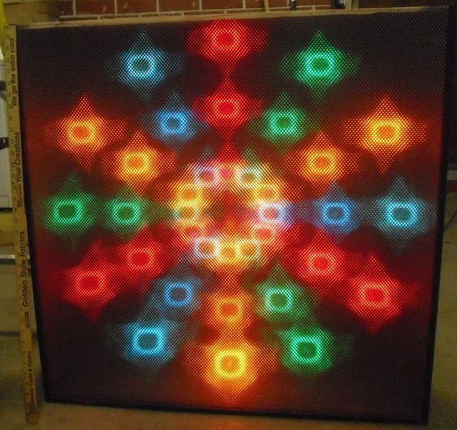 New Dessco 36 Inch Jr Ww Four Channel Light Display Color Organ Disco Lights Vintage Electronics Light Display