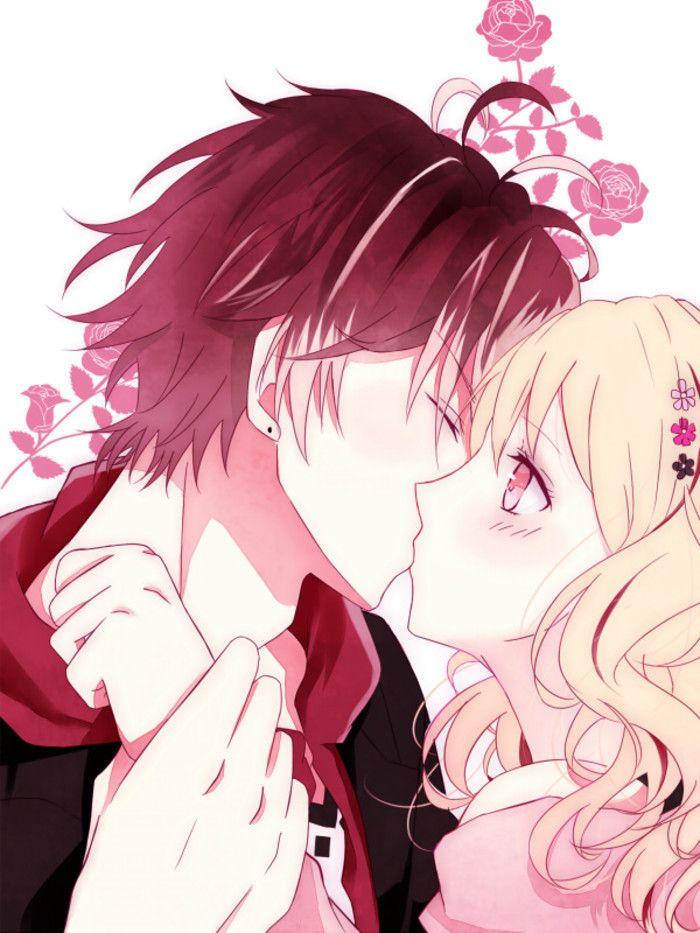 Anime Art Ayato Sakamaki Ayato X Yui Diabolik Lovers Kiss Manga Otome Game Vampire Yui Komori Diabolik Lovers Diabolik Lovers Ayato Diabolik