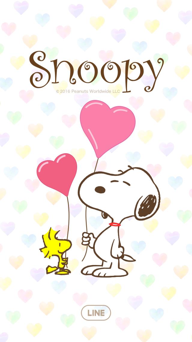 スヌーピー パステルハート Papel De Parede Do Snoopy Fotos
