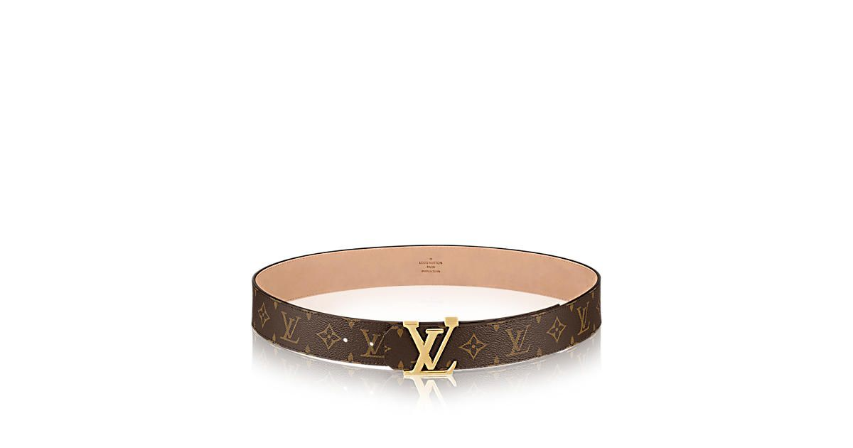Cintura LV Initials  40mm Tela Monogram - Accessori | LOUIS VUITTON
