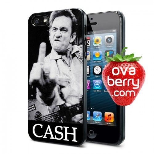 Johnny Cash iPhone and Samsung Galaxy Phone Case