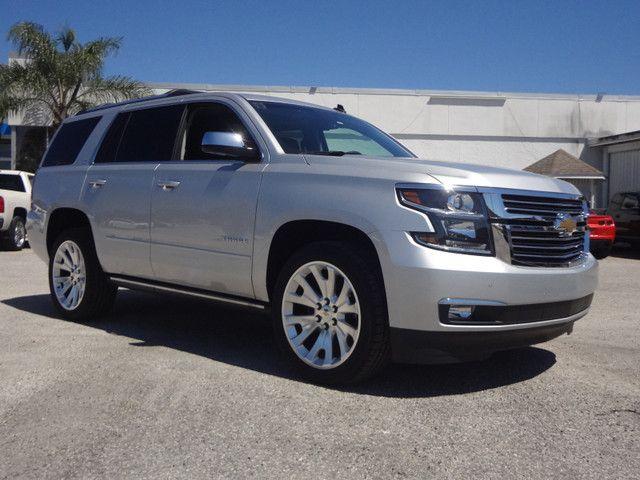 2015 Chevrolet Tahoe Ltz 2wd Silver Ice Metallic Chevrolet
