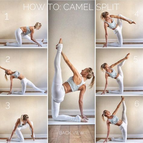 a fun and challenging pose  balance  hamstring/shoulder