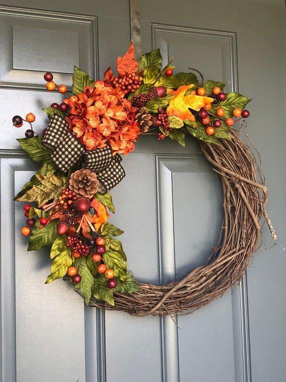 Photo of Herbstkranz, Herbstkränze für die Haustür, Herbstkränze, Herbstkränze für die Tür, Haustürkränze, Herbstkranz, Kränze für die Tür
