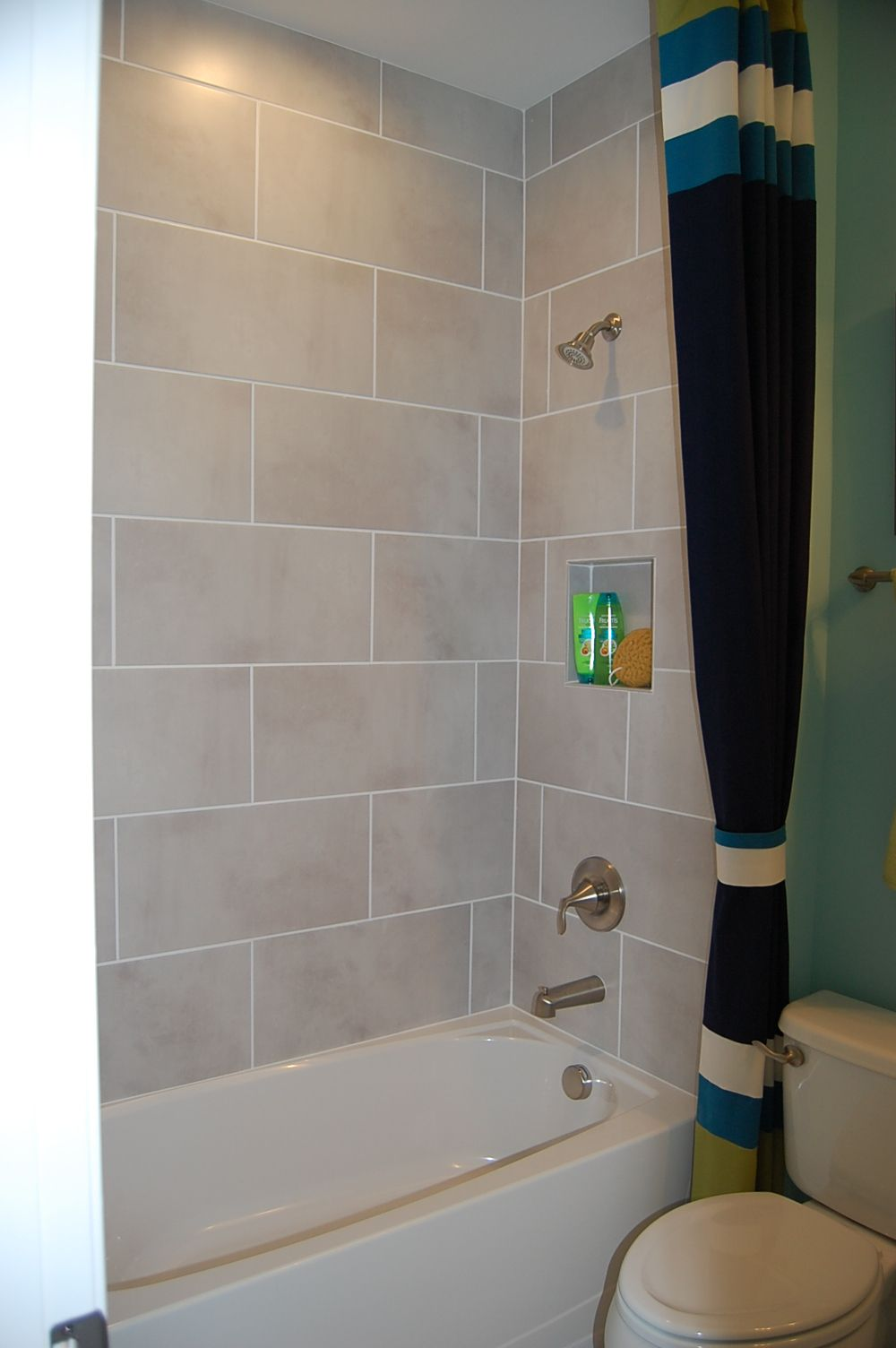 Master Bath Shower - Emser Cosmopolitan Crystal House