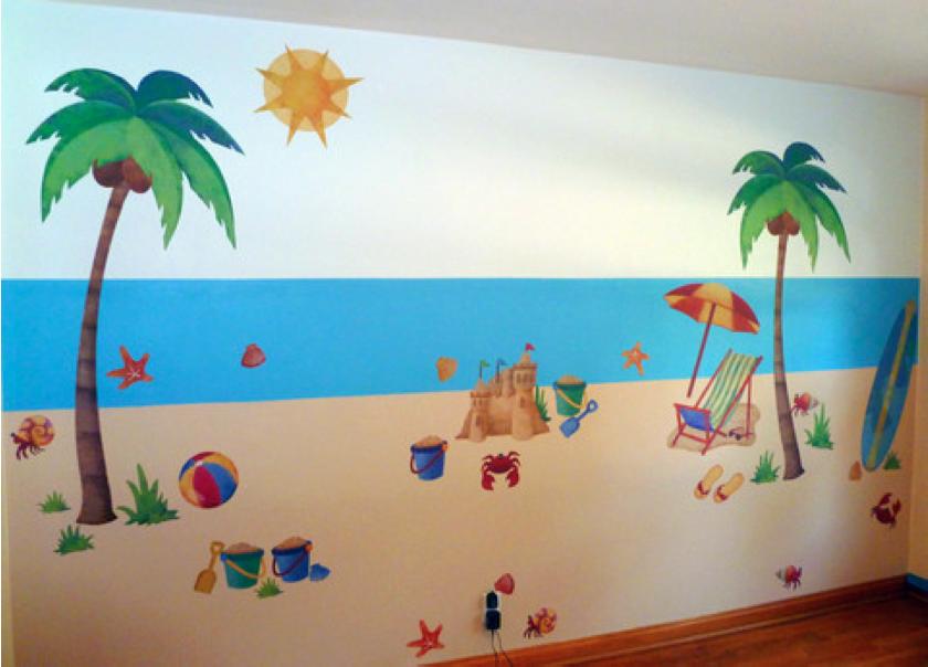 Beach Themed Wall Decals Part 77