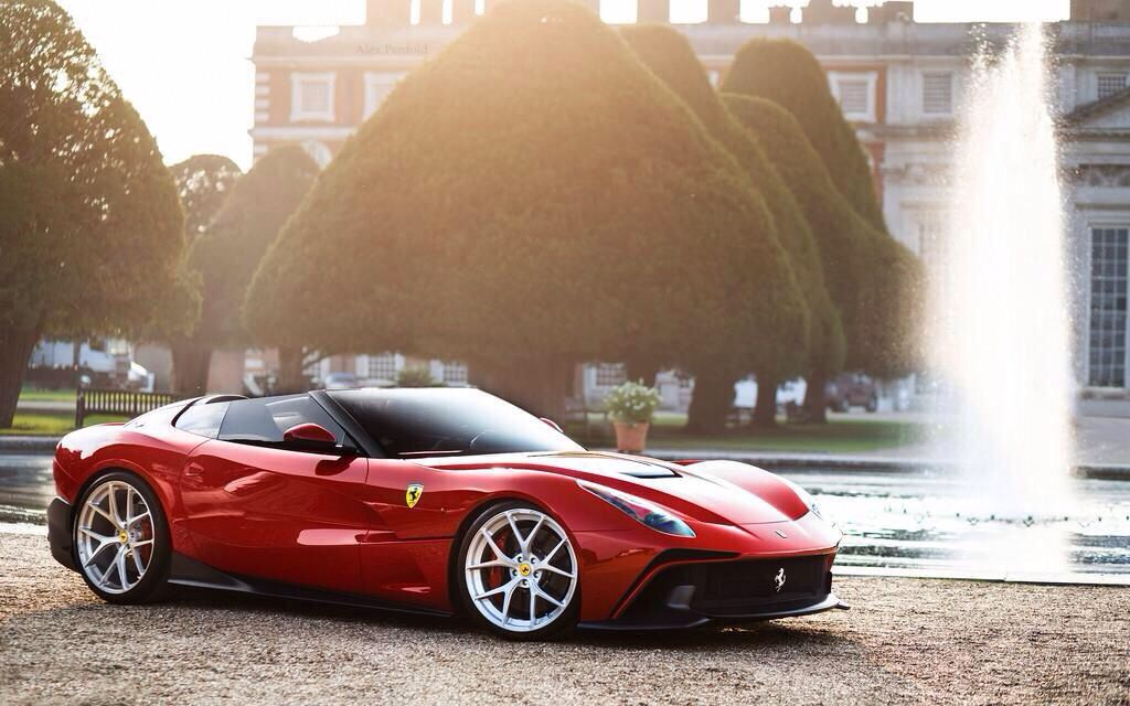 The Best New Cars By Bugatti Aston Martin And Ferrari In 2018: Ferarri F12 TRS. Excellent Convertible, Beautiful.