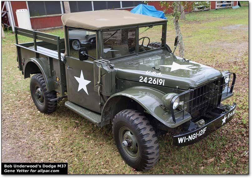 Dodge M37 military truck | M37, POWER WAGON, KAISER etc | Military