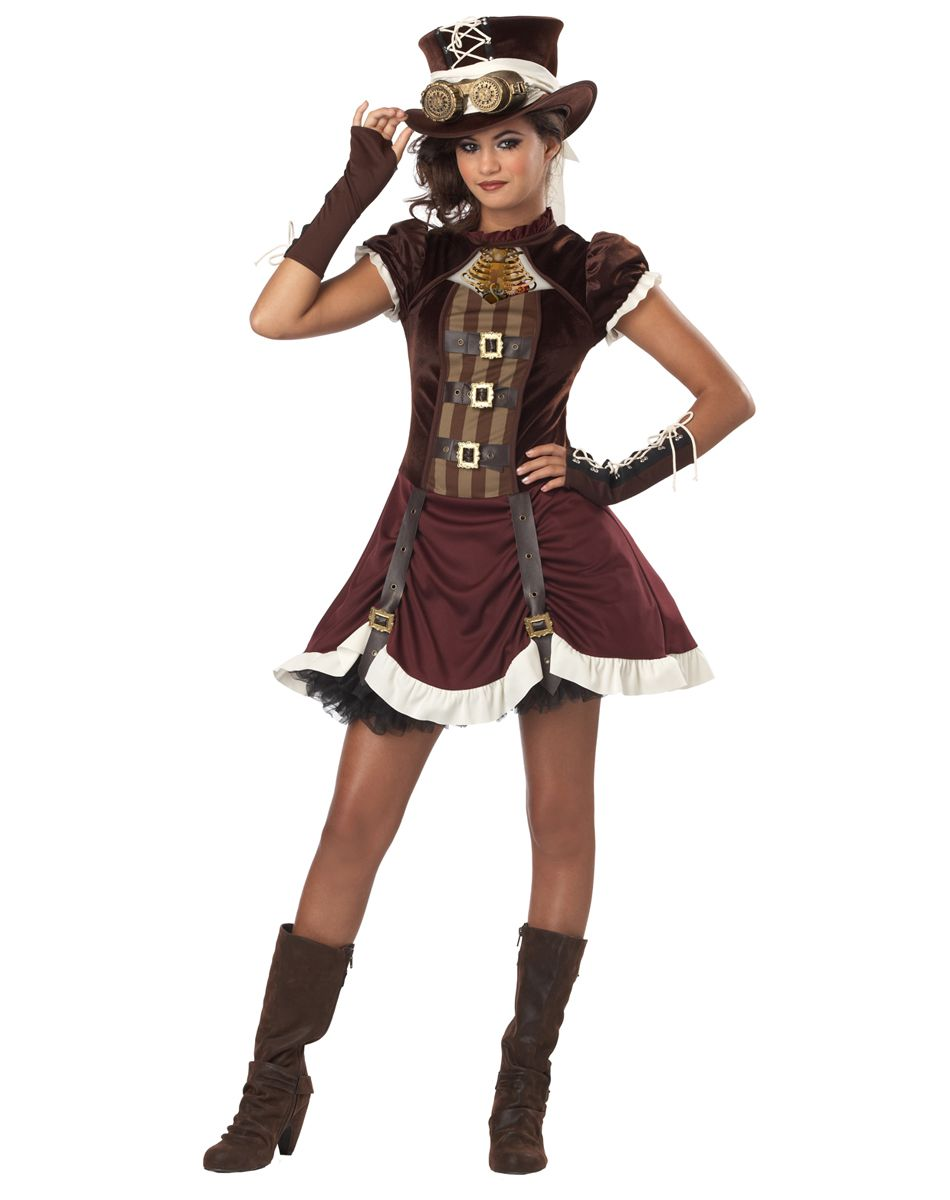 Steampunk Tween Costume – Spirit Halloween | For Hayley ...