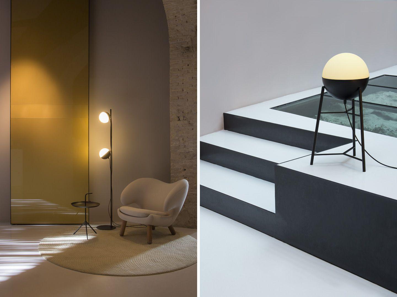 Lampade a LED a luce diretta/indiretta Half by Milan