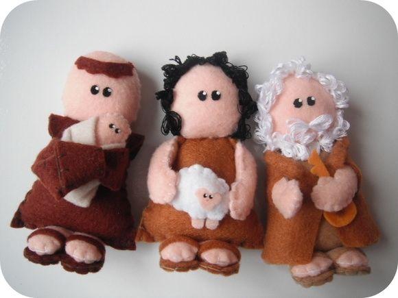 santo antônio em feltro craft crafty artesanatofelt fieltro