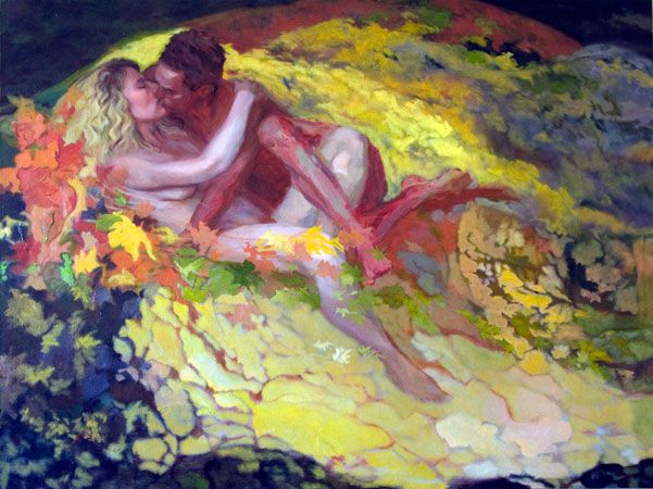 New Inspiration For A Painting Twin Flame, True Love