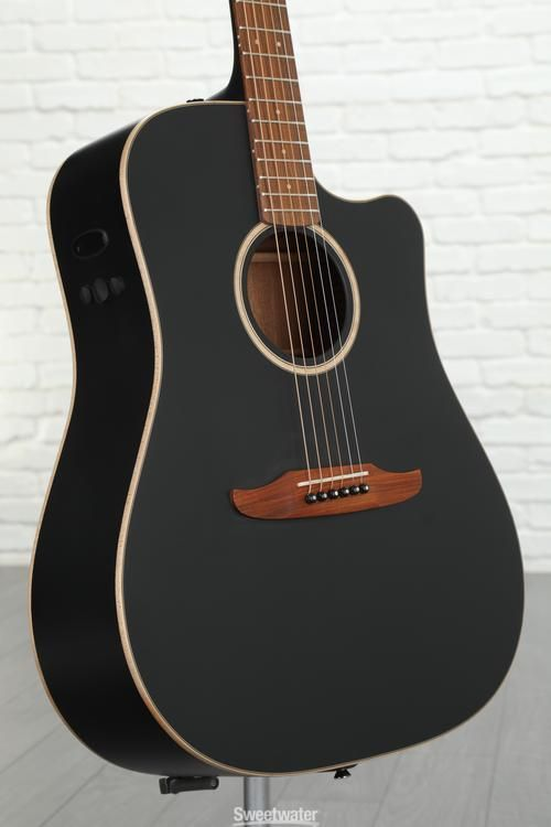6 string acoustic electric guitar with spruce top mahogany back sides and neck pau ferro. Black Bedroom Furniture Sets. Home Design Ideas