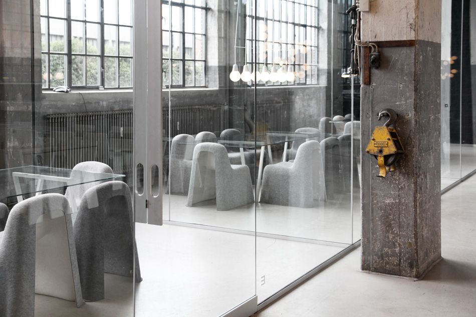Bjarke ingels group big architects studio visit industrial