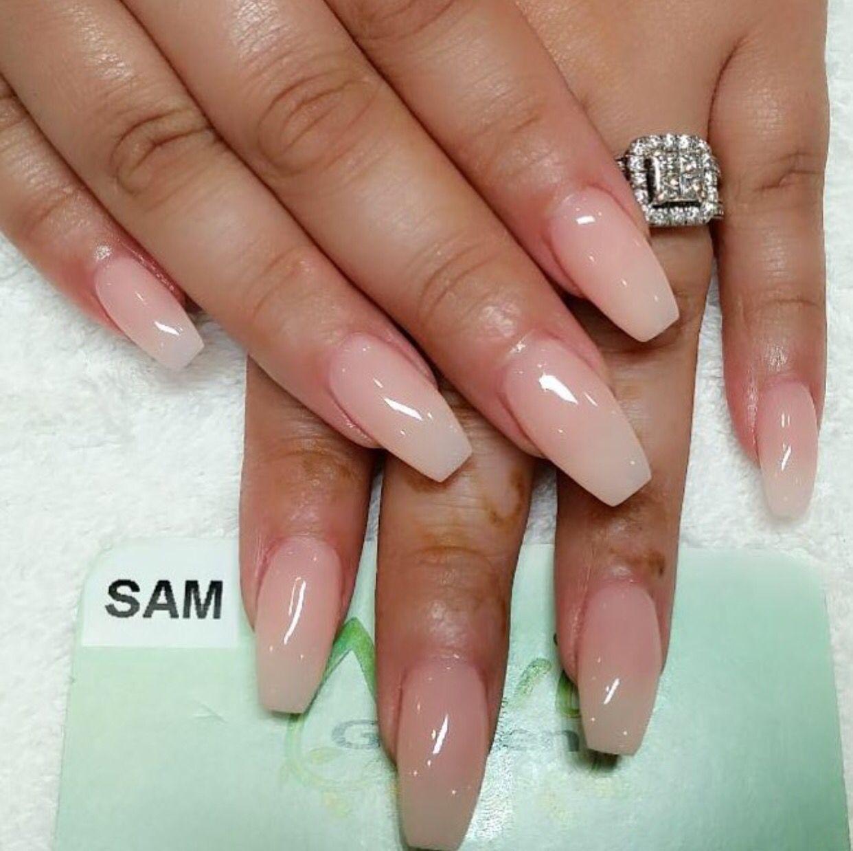 Pin by prabhleen kaur on Nails Natural acrylic nails