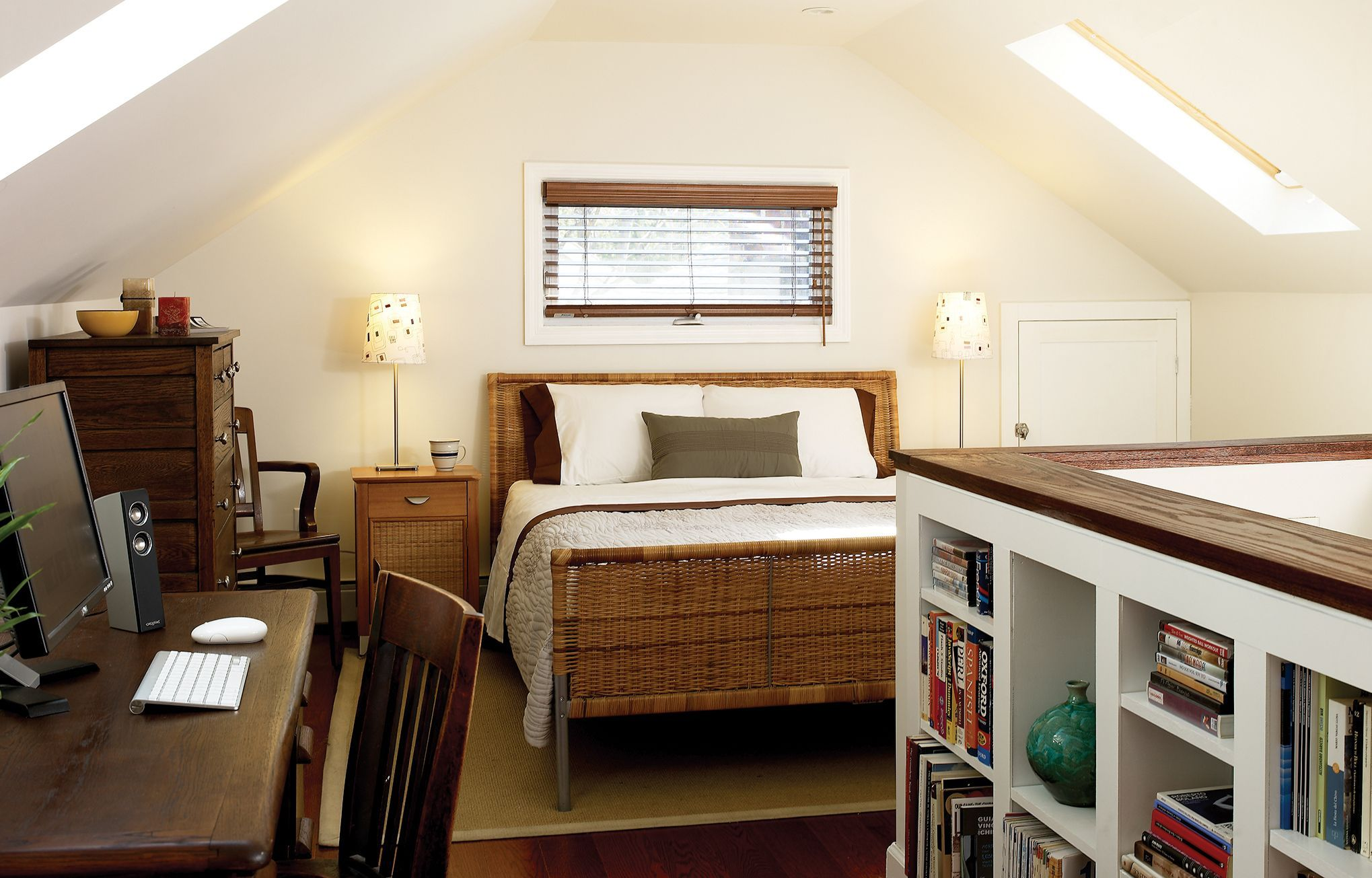 From Attic to Bedroom, with Help from the Web Attic