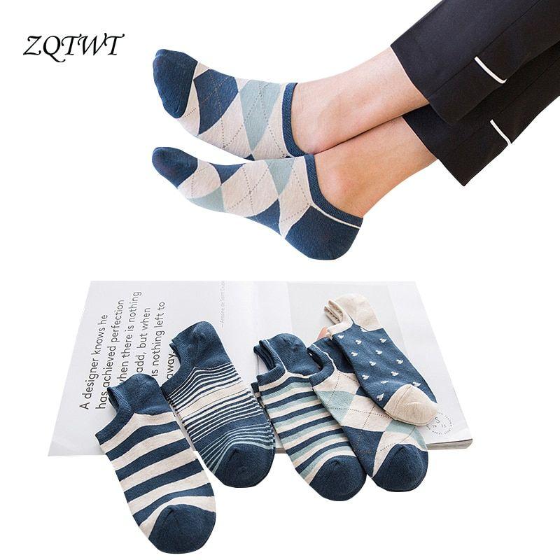 d24ffde0559 Midas ZQTWT 5 Pair Lot Fashion Men Cotton Ankle Short Socks For Men    Price   13.92   FREE Shipping     hashtag1