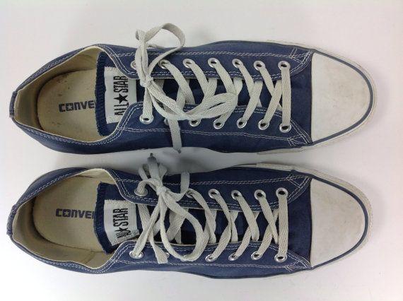 ec8369ca742 converse sneakers shoes mens 14 D chuck taylor blue canvas all star ...