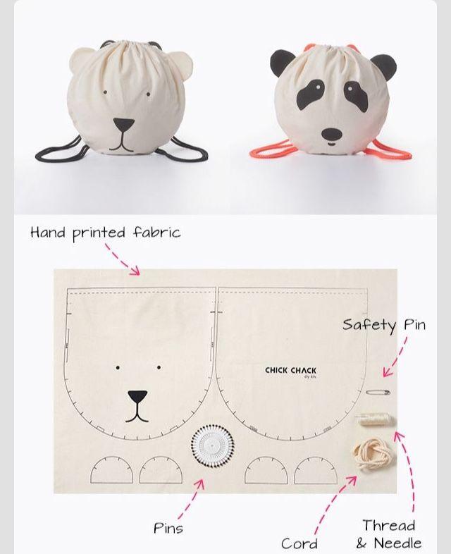 Pin de Sizuka en 子供   Pinterest   Costura, Sacos y Malos