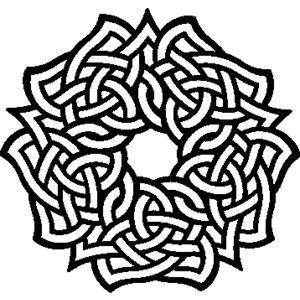 irish symbols coloring pages - photo#13