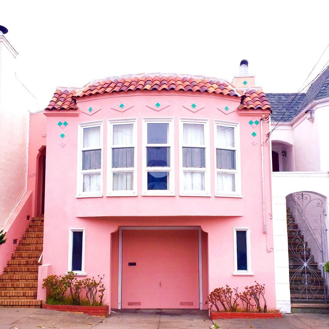 Poetic Pictures of San Francisco Colorful Houses | Pinterest | San ...