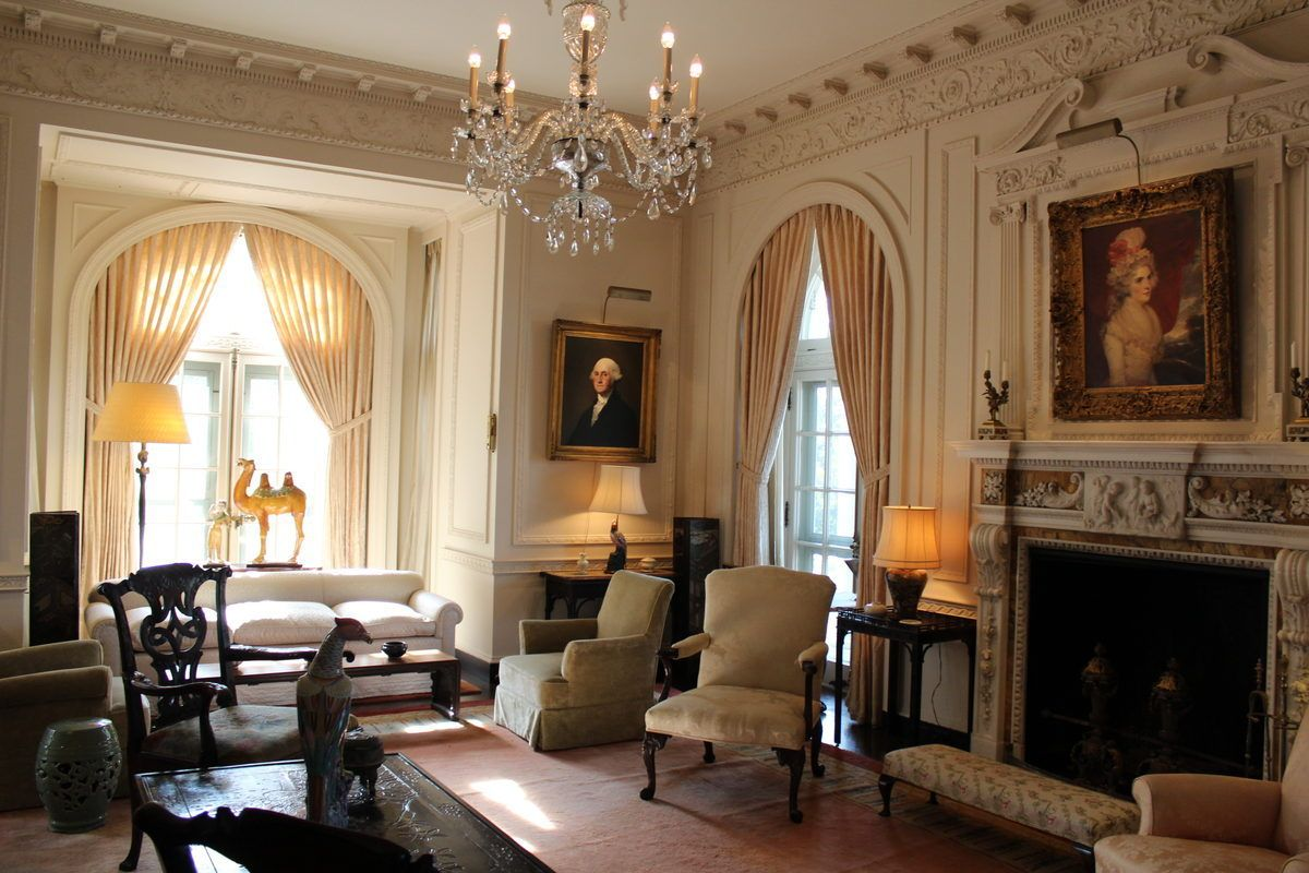 Step Inside This Grand Rockefeller Manse In Upstate New York