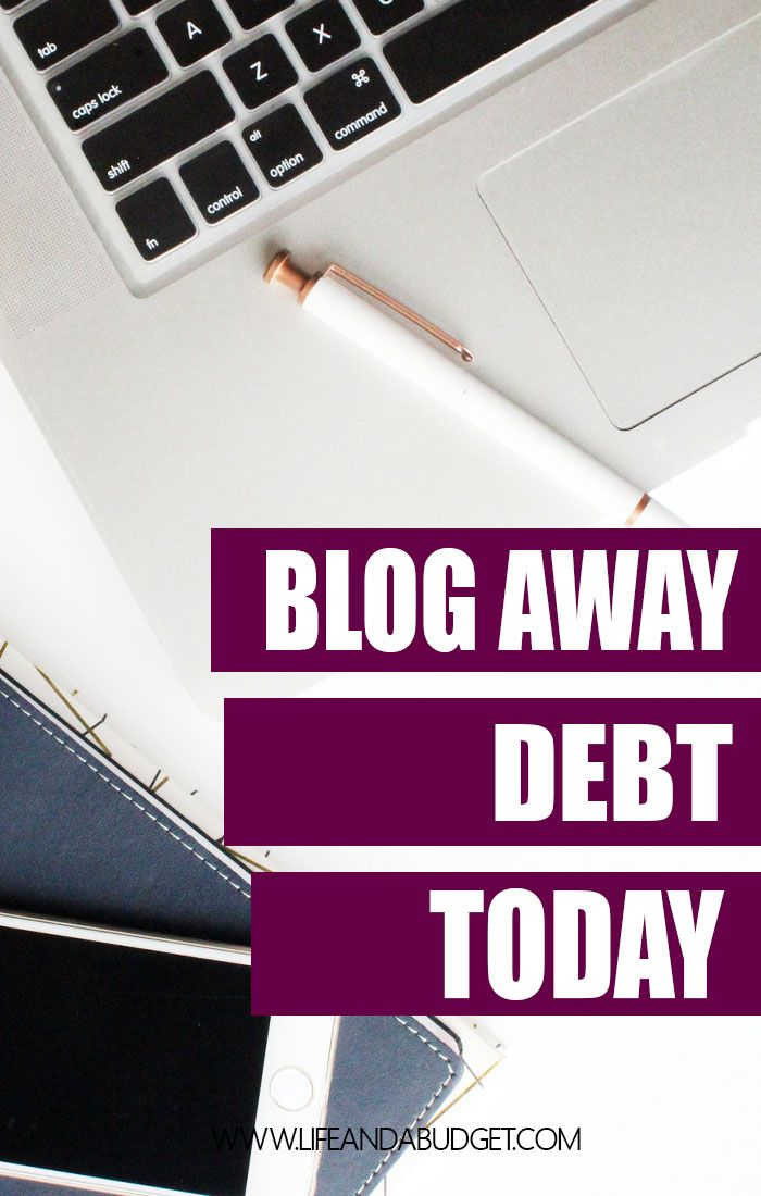 Are you up to your eyeballs in debt and want to create another source of income to help you get out of debt? Well, this is a step-by-step guide on how to start a blog and use your services to blog away debt!