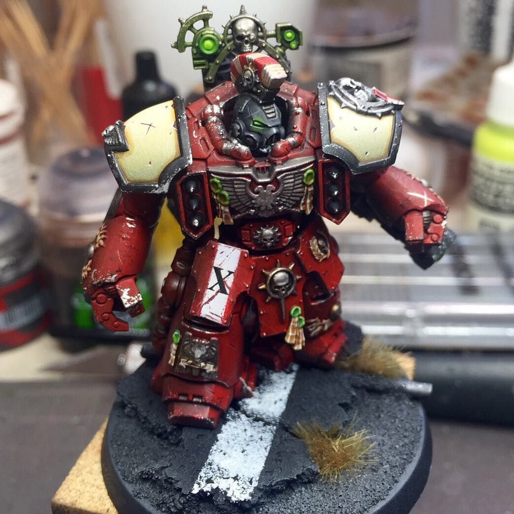 All Things Warhammer — Description: Completed Blood Ravens ...