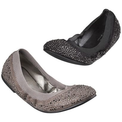 2df74ab81211d3 Women s Mossimo® Vanessa Scrunch Ballet Flat with Sparkle - Assorted Colors