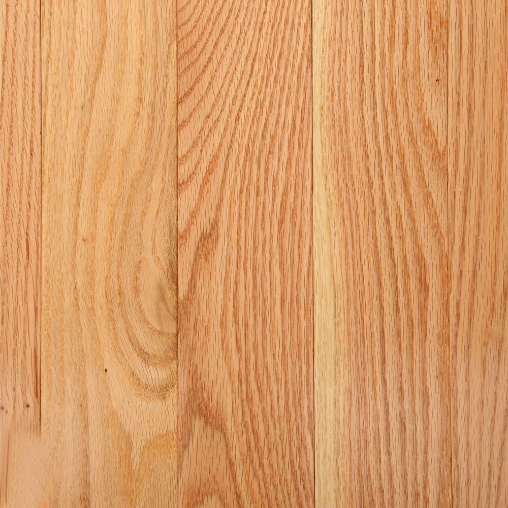 Bruce American Originals Natural Red Oak 3 4 In T X 3 1 4 In W X Varying L Solid Hardwood Flooring 22 Sq Ft Case Shd3210 The Home Depot Solid Hardwood Floors Hardwood Floors Flooring
