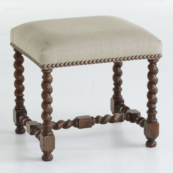 Wisteria Stools Awesome Wisteria  Furniture  Stools & Ottomans  European Barley Twist . Review